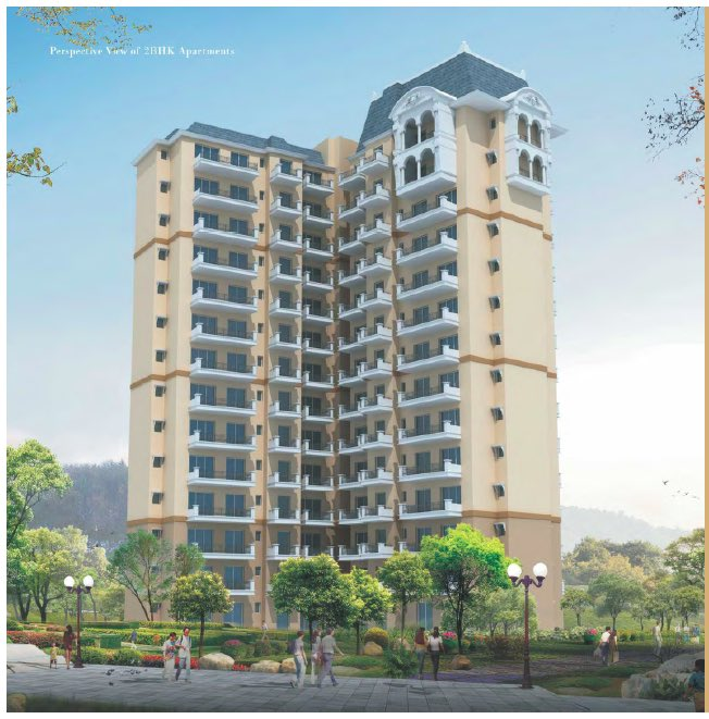 Ansal_HighlandPark_2BHK_Elevation