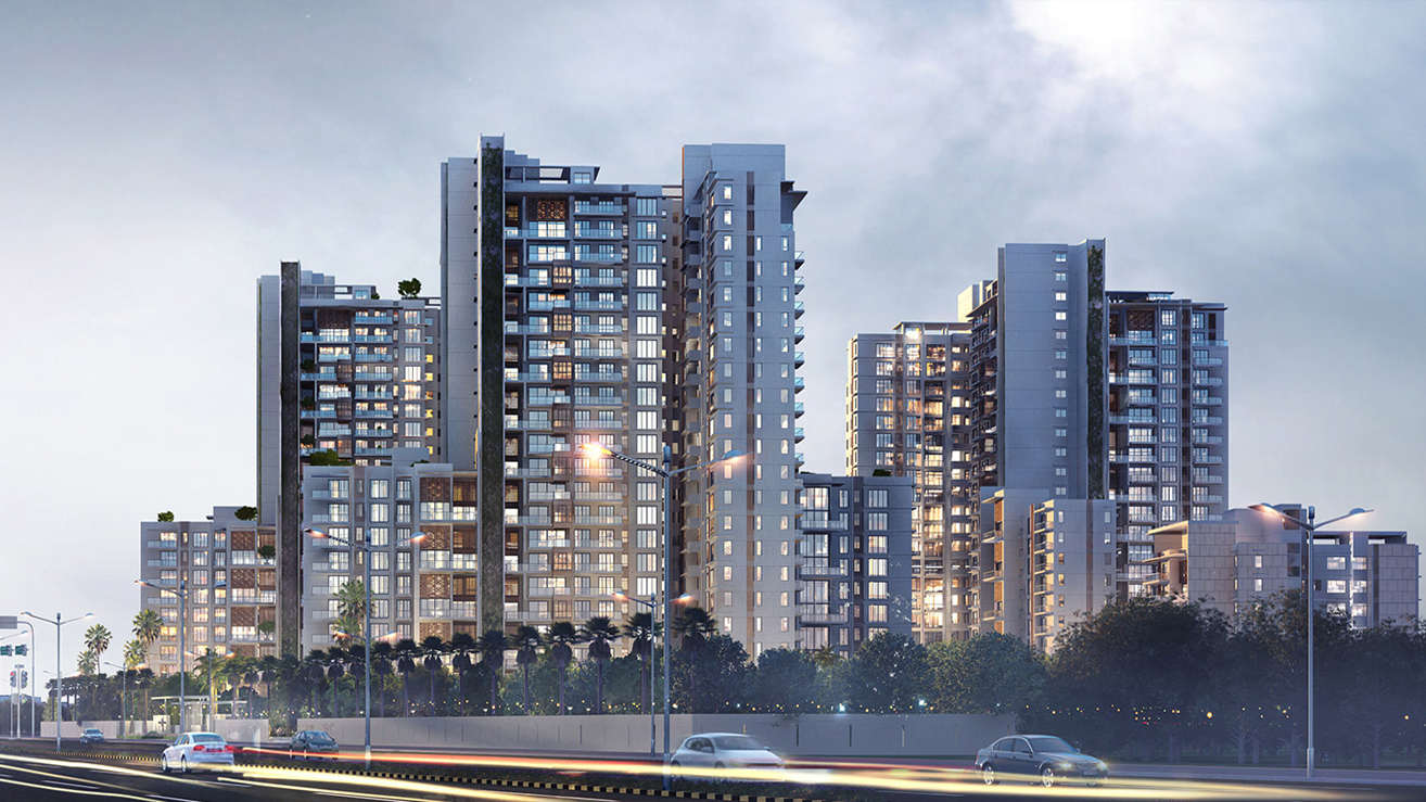 TataValueHomes_NoidaSector150Project_Elevation