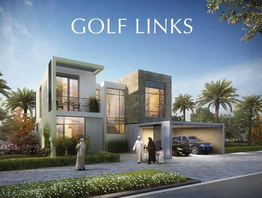 Golflinks By Emaar_villa elevation