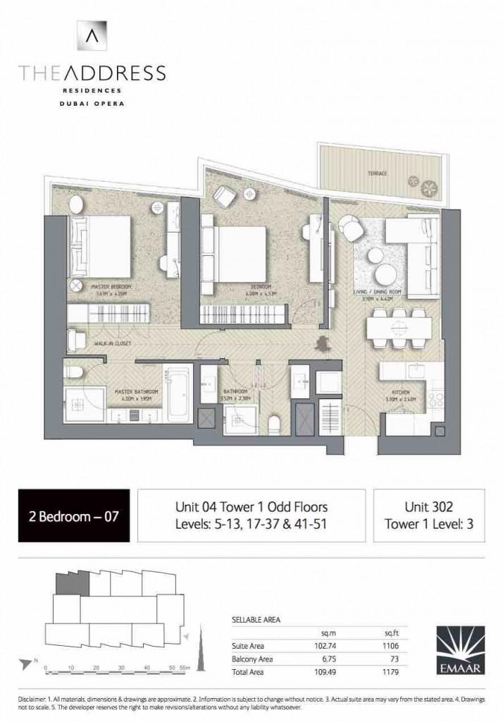 Address Opera Floor Plans