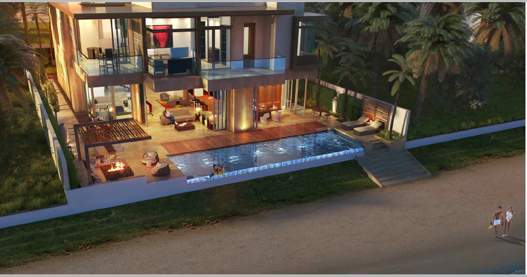Ellington Palm Villa Collection_External view