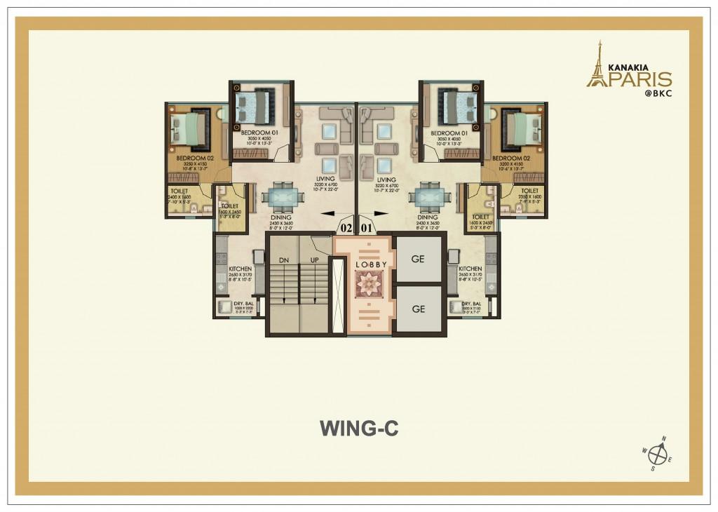kanakia Paris_Floorplan