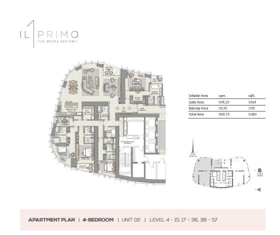 ILPrimo_Floorplan_4Bedroom