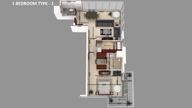 SafeerTower-FloorPlan-BEDROOM-TYPE-1