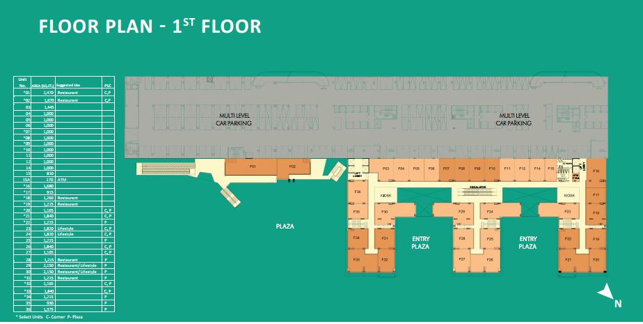 WTCChandigarh_FloorPlan_RetailSpace_1stFloor
