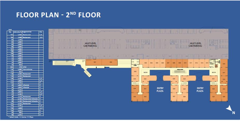 WTCChandigarh_FloorPlan_RetailSpace_2ndFloorWTCChandigarh_FloorPlan_RetailSpace_2ndFloor