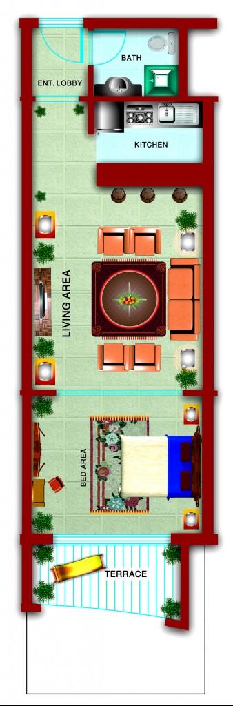 Gardenia_STUDIO 5_FloorPLan