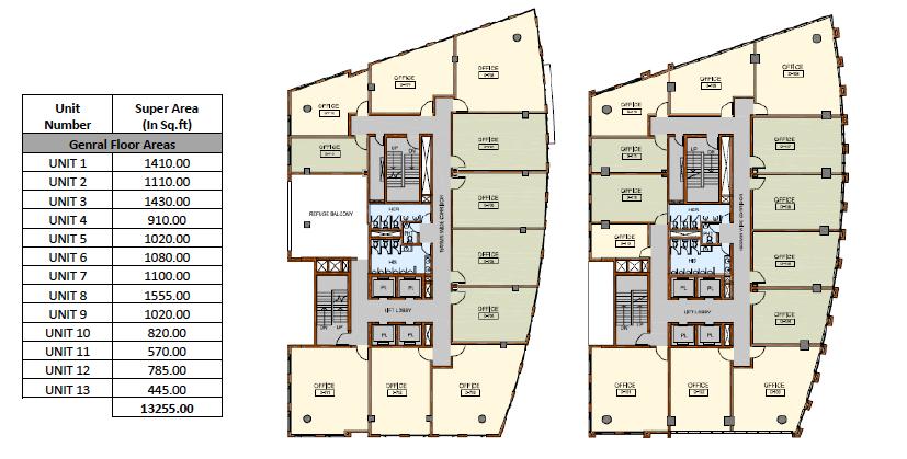 Vatika Town Square_FloorPlan