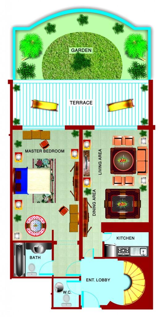 Gardenia_TOWN HOUSE6_FloorPLan