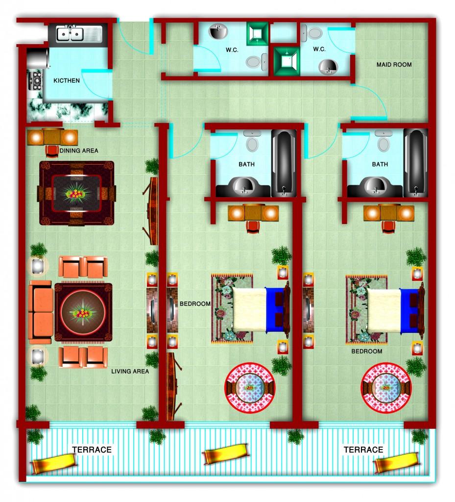 Gardenia_2BEDROOM 7_FloorPLan