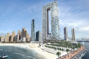 Emaar to build twin-towered hotel and residential project at Dubai's JBR