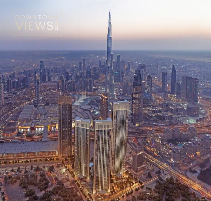 Emaar's New Launch DOWNTOWN VIEWS||