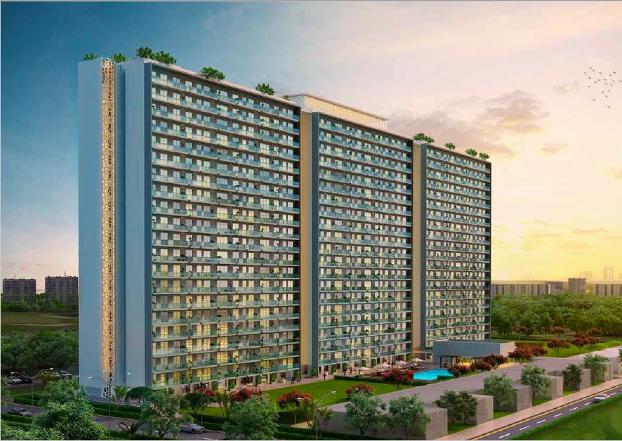 TheSuites_GodrejGolfLinks_ApartmentsElevation