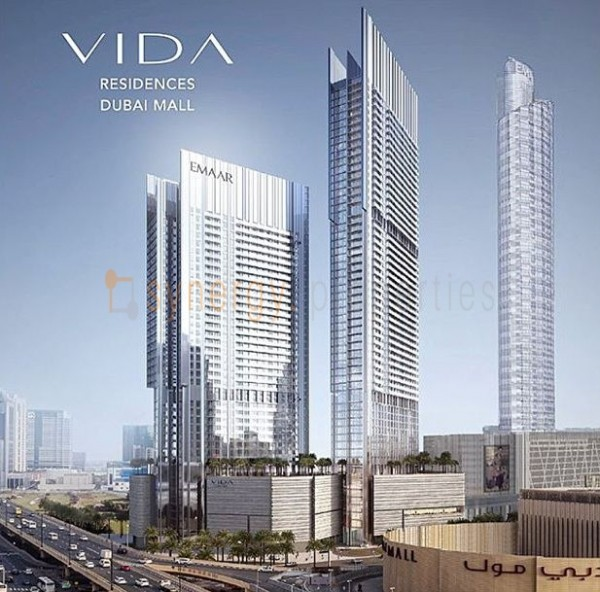 Vida_DubaiMall_residence_elevation
