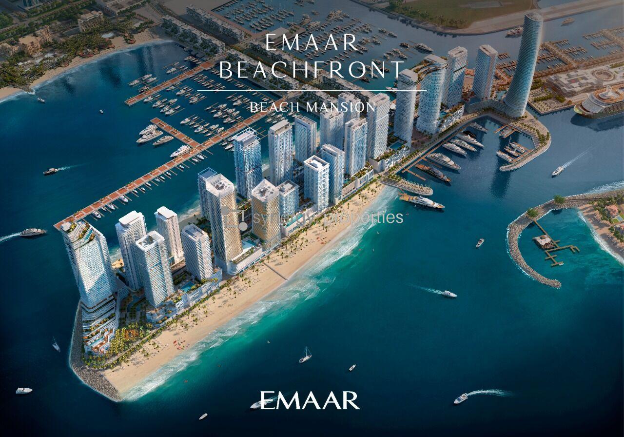 Emaar Beach Mansion Tower at Emaar Beachfront | Leisurely Designed Lifestyle - Coming Soon