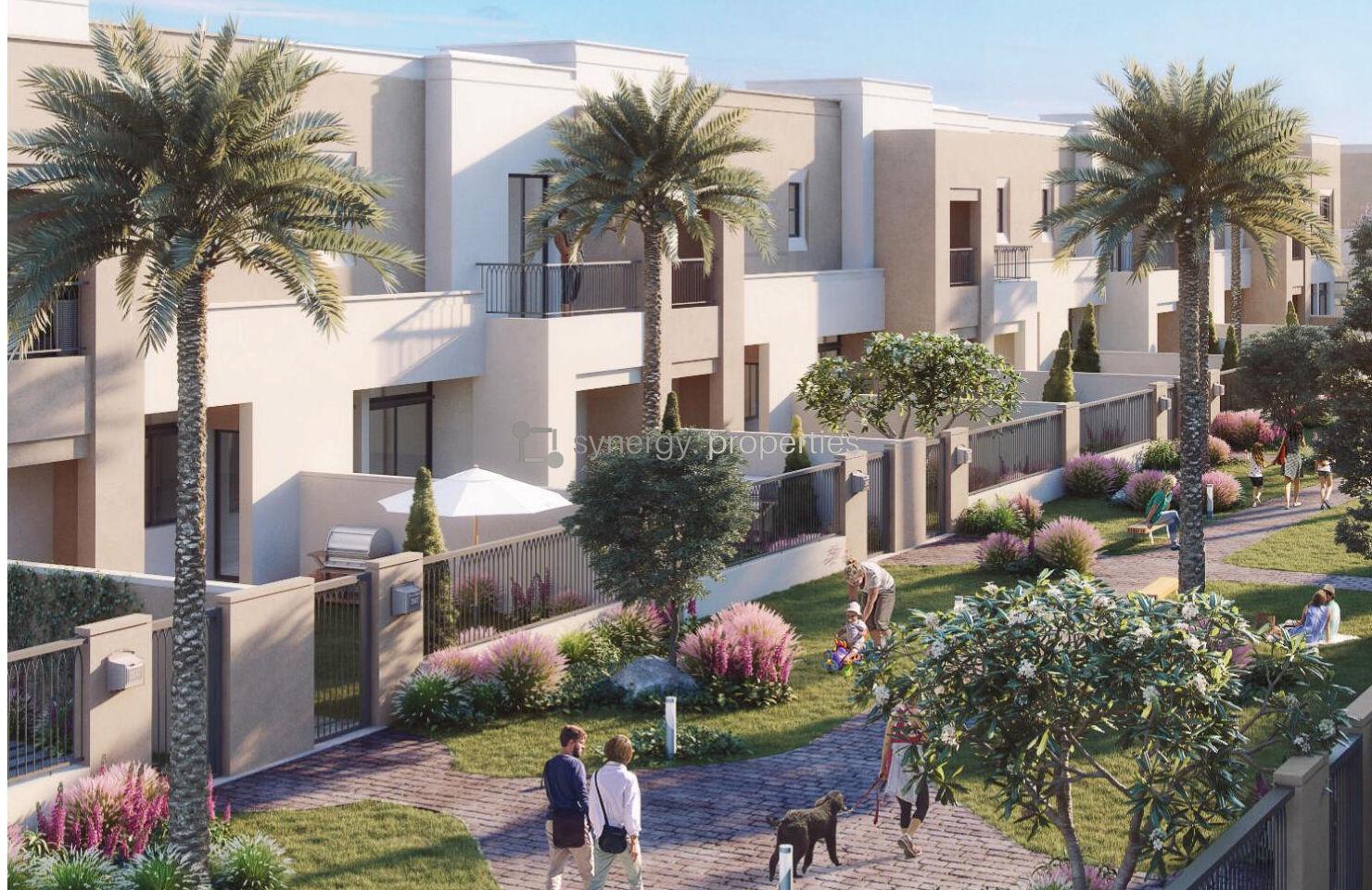 reem townhouses at Town Square Dubai By Nshama